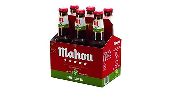 Mahou 5 Estrellas Sin Gluten Cerveza Especial Sin Gluten ...