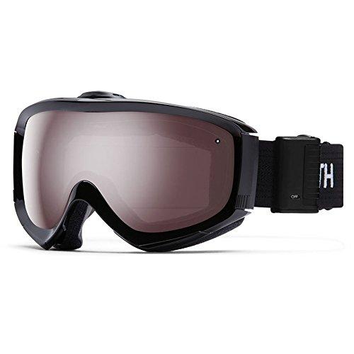 Smith Optics Prophecy Turbo Fan Adult Turbo Fan Series Snocross Snowmobile Goggles Eyewear - Black / Ignitor Mirror / Medium/Large -