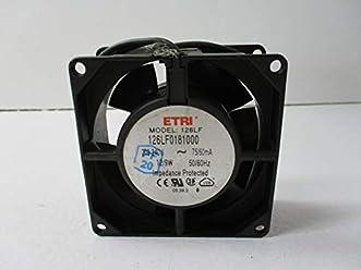 ETRI 141LV-0282-010 Fan 115V 10//9W 1600RPM 50//60HZ  USED