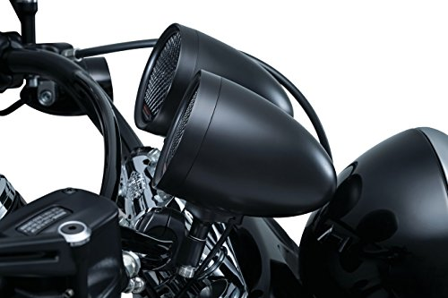 Kuryakyn RoadThunder® Speaker Pods and Bluetooth® Audio Controller by MTX® (Satin Black)