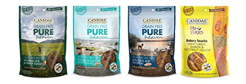 - CANIDAE Grain Free Dog Food-Biscuits 4 Bags