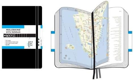 Moleskine S08060 - Organizador personal con mapas de New York ...