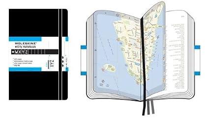 Moleskine S08060 - Organizador personal con mapas de New York