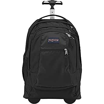 JanSport Driver 8 Core Series Wheeled Backpack(Black)