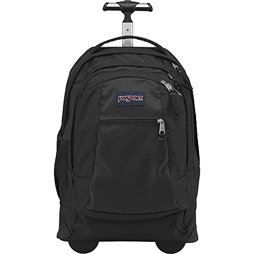 JanSport Driver 8 Core Series Wheeled Backpack(Black) by JanSport