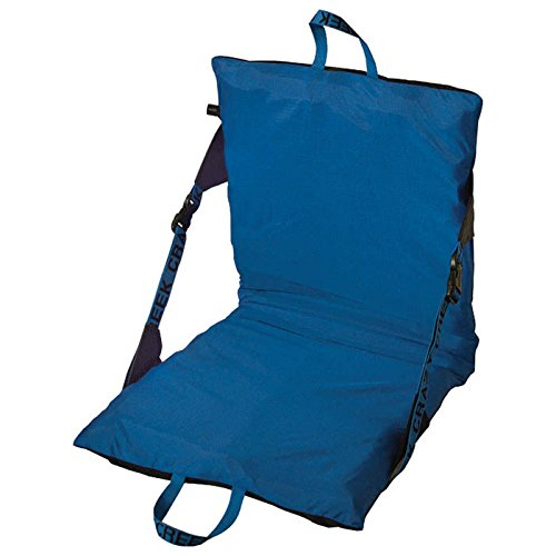 Crazy Creek Products Air Compact Chair, Black/Royal Blue