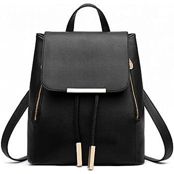 US Women/'s Lady PU Leather Backpack Travel Handbag Satchel Rucksack Shoulder Bag