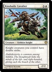 Magic: the Gathering - Kinsbaile Cavalier - Duel Decks: Knights vs Dragons