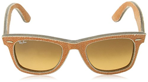 Ray-Ban Unisex ORB2140 Wayfarer Jeans Orange Sunglasses by Ray-Ban (Image #2)