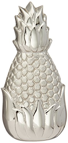 Hospitality Pineapple Doorbell Ringer - Nickel Silver