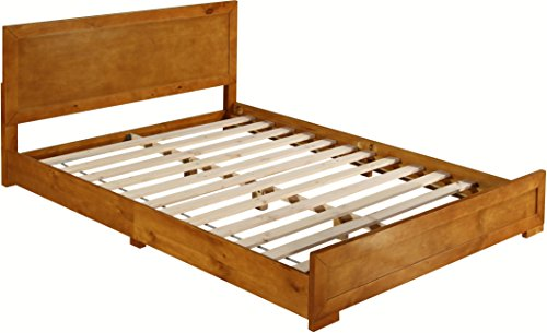 - Camden Isle Oxford Bed, King, Oak