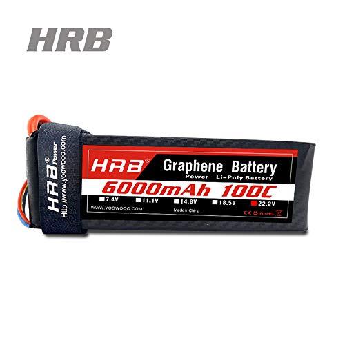 HRB Graphene 6s 5000mAh 6000mAh 100C Max 200C リポバッテリーパック HRB-Graphene -6000mAh-6s B07L1GTKB2  6s 6000mAh EC5