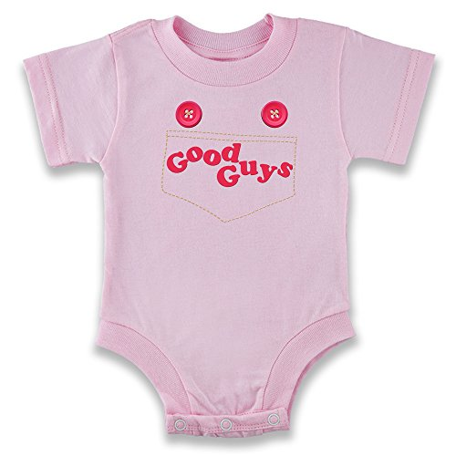 Good Costumes Guys (Good Guys Baby Costume Pink 6M Infant Bodysuit by Pop)
