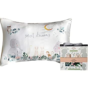Amazon Com Toddler Pillowcase 100 Natural Silk Soft