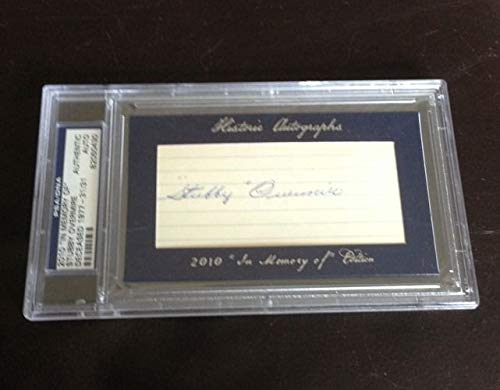 2010 Ha Historic Autographed Signed In Memory Of Stubby Overmire Auto 31/31 PSA/DNA Authentic Nice