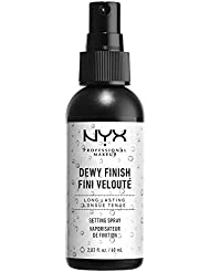 NYX Cosmetics Make Up Setting Spray Dewy Finish, 2.03 Fl Oz