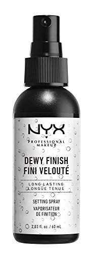 NYX Professional Makeup Make Up Setting Spray Dewy Finish, 2