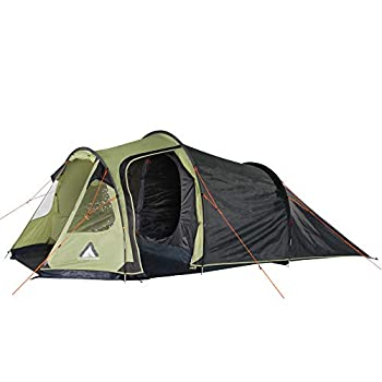 Image of 10T Outdoor Equipment Mandiga 3 Beech Nut Green Person Tent 365 x 190 x 125 cm Tents
