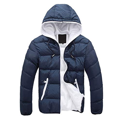 Amazon.com: XuBa Winter Spring Parka Jacket Men Fashion ...