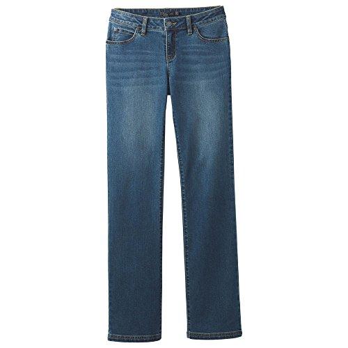 (prAna Geneva Jean Regular Inseam Pants, Antique Blue, Size 6)