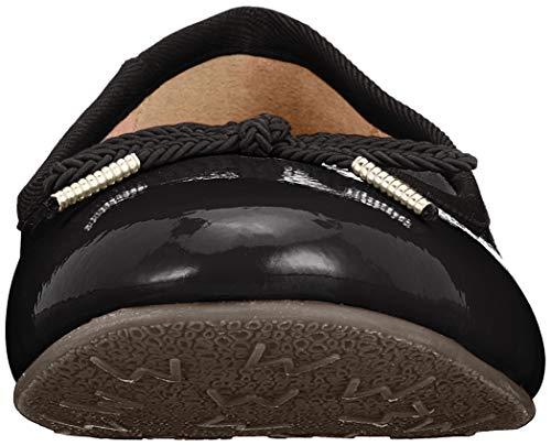 22123 Ballet Flats Tamaris Black 21 Women's 18 Black Patent Uq75FHO