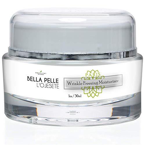 Bella Pelle L'ojesete Cream - Paris Wrinkle freezing Moisturizer by Emollient Skin Secret - Anti Wrinkle Cream Rapid Wrinkle Repair - Anti Wrinkle Night Cream - Ageless Anti Aging Advanced - Moisturizer La Bella