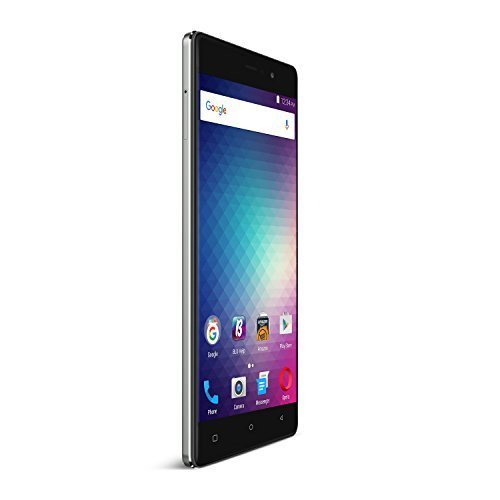 BLU VIVO 5R Refresh Smartphone - 5.5-Inch Display 4G LTE GSM Unlocked, GREY