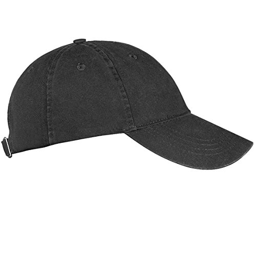 Blank Adjustable Classic Suede Cotton Solid Color plain Baseball Cap Unisex Average adult Adjustable Suede/Cotton sport outdoor (Cotton) Dark Black) (Solid Cotton Cap)