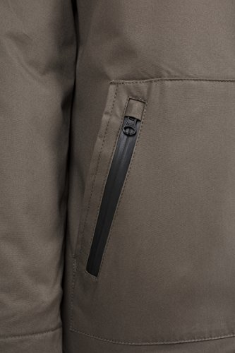 Fur Classics Cotton 176 Grün Urban para Heavy Imitation Olive Parka Hombre qHS77xUCw