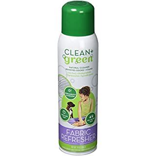 Clean+Green Natural Fabric Refresher Spray, Deodorizer, Stain and Odor Remover