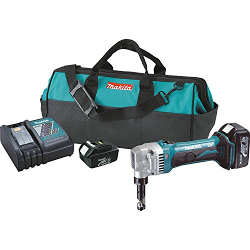 18v Metal Shear (Makita XNJ01 18V LXT Lithium-Ion Cordless 16 Gauge Nibbler)
