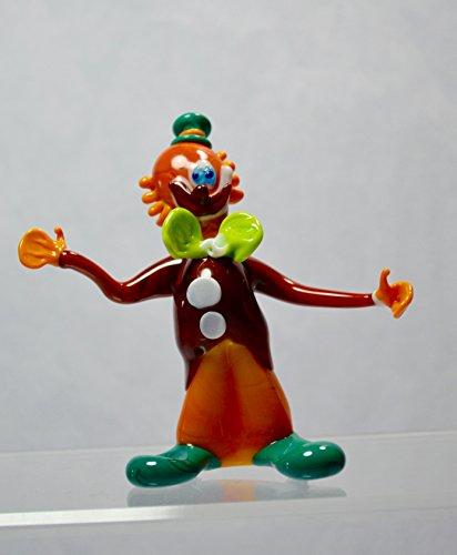 Authentic Murano Glass Clown Figurine, Vito