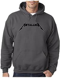778 - Hoodie Metallica Beavis Butt-Head Parody Logo Unisex Pullover Sweatshirt