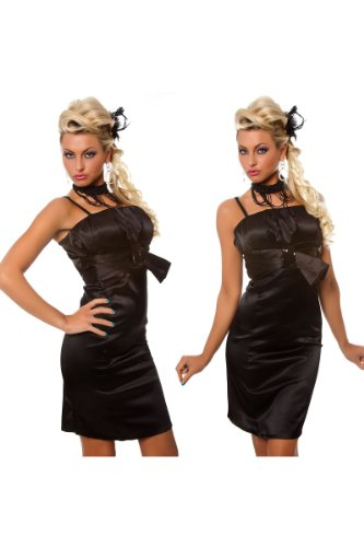 nero fascia Tube Club Boob altalena outfit party da a paillettes sera cocktail Rockabilly Formal Celebrity paillettes Prom Line Style abito Style Style a abito tW6YwwqH