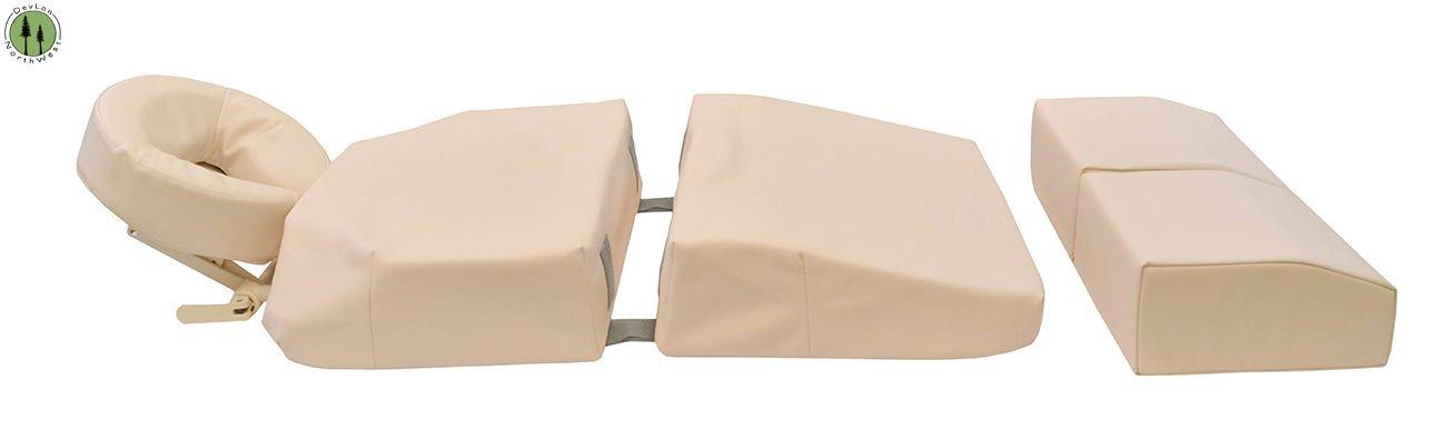 Pregnancy Pillow Massage, Pregnancy Massage Table, Pregnancy Bolster, Pregnancy Massage Bolster, Pregnancy Massage Pillow w/ Carrying Case Beige