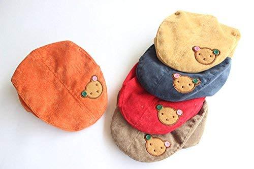Demana Tapa plana sombrero los niños llevan bebé de corduroy guapo Boina de  otoño de invierno fe43a3cf075