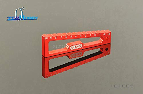 Part & Accessories Team EDS Aluminum Chassis Droop Gauge - 3 To 10mm 1:8 1:10 RC Car #EDS-181005
