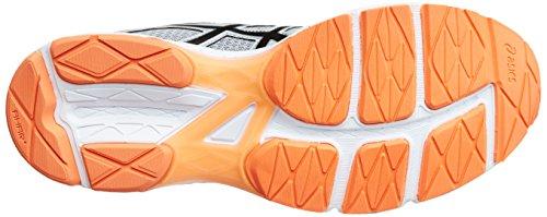 Asics Heren Gel-phoenix 8, Middengrijs / Zwart / Warm Oranje Middengrijs / Black / Hot Orange