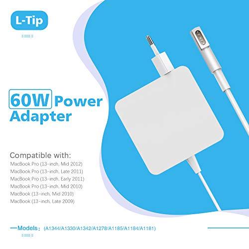 Epilum 60W MagSafe 1 Adaptador de Corriente para MacBook Pro Forma ...