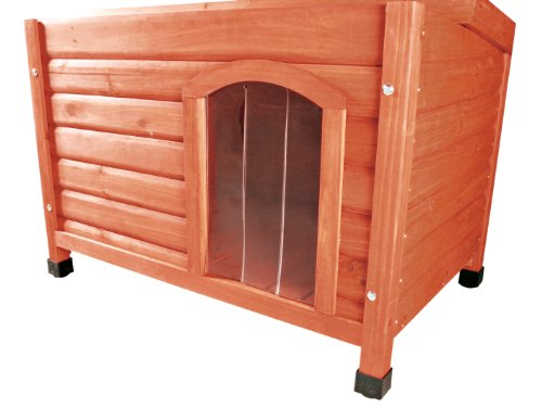 TRIXIE-Pet-Products-Plastic-Door-for-Flat-Roof-Dog-House-X-Large