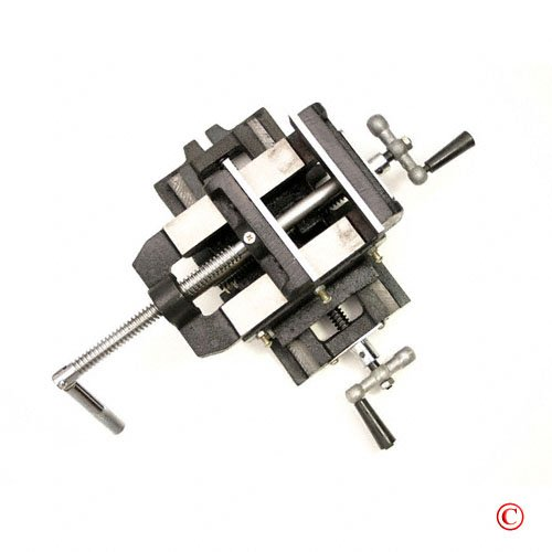5'' Cross Slide Drill Press Vise Metal Milling Machine