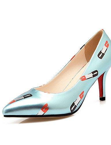 talones aguja tac¨®n mujeres la punta ZQ boda de del cn35 en la de silver de pie novedad cn38 5 eu38 5 tac¨®n 5 las de uk5 dedo 5 us7 cn3 5 pink uk3 de zapatos eu36 de 5 zapatos uk3 eu36 del us5 us5 silver BRRq60X
