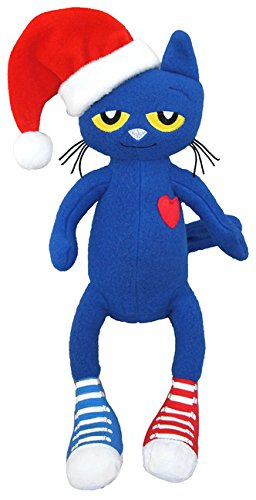 merrymakers pete the cat saves christmas plush doll 15 inch - Pete The Cat Saves Christmas
