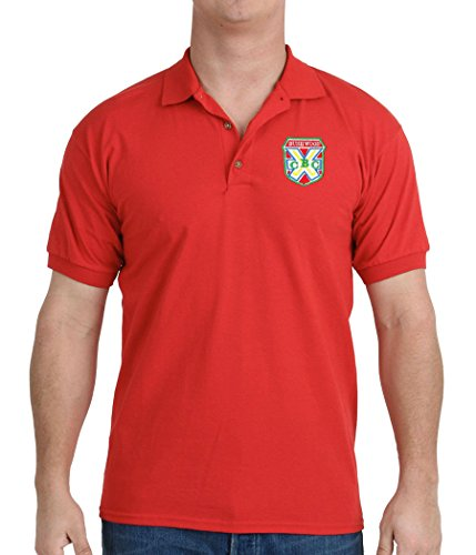 Animation Shops Caddyshack Bushwood Country Club Embroidered Polo Shirt-Large