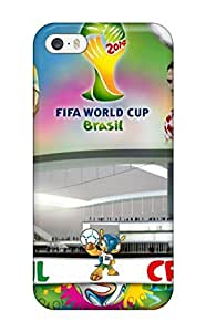 Awesome Case Cover/iphone 5/5s Defender Case Cover(brazil Vs Croatia)
