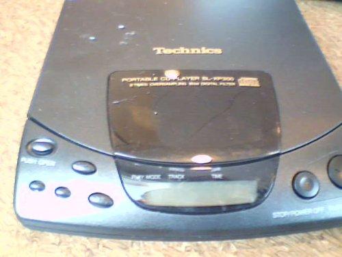 Matsushita Electric Industrial Co., Ltd. Matashita Technics Portable CD Player SL-XP300 Portable CD Player Technics Model#SL-XP300PP-K with 8 Times Oversampling 18bit Digital Filter Compact Disc Portable (Matsushita Electronics)