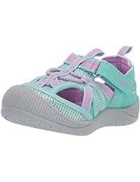 Kids Myla Girl's Mesh Athletic Bumptoe Sandal