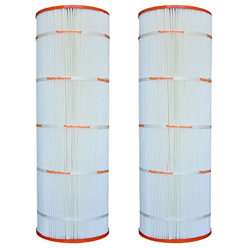 Pleatco PSR100 Pool Replacement Filter Cartridge (2 Pack) by Pleatco
