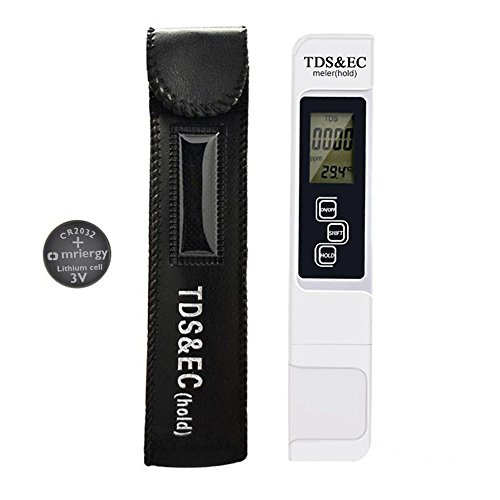 Water Quality Test Meter 3-in-1 Digital Water Test Meter Professional as TDS EC,Temperature Meter Reliable Water Tester for Aquarium Fishing Industry Swimming Pools Laboratory Food & Beverage
