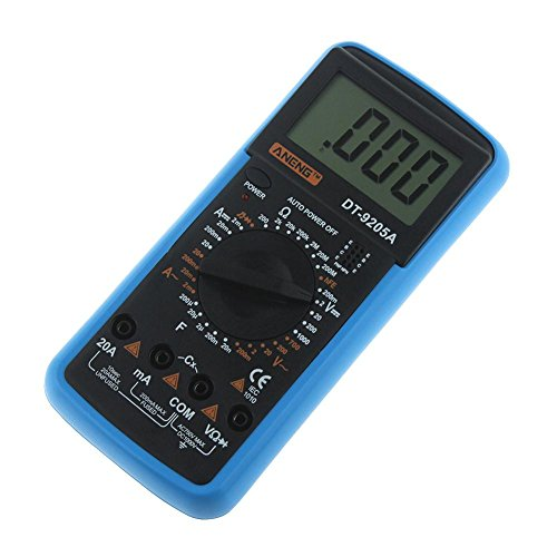 Digital Multimeter DT-9205A AC DC LCD Display Professional Electric Handheld Tester Meter Multimetro Ammeter Multitester by UEB (Image #4)